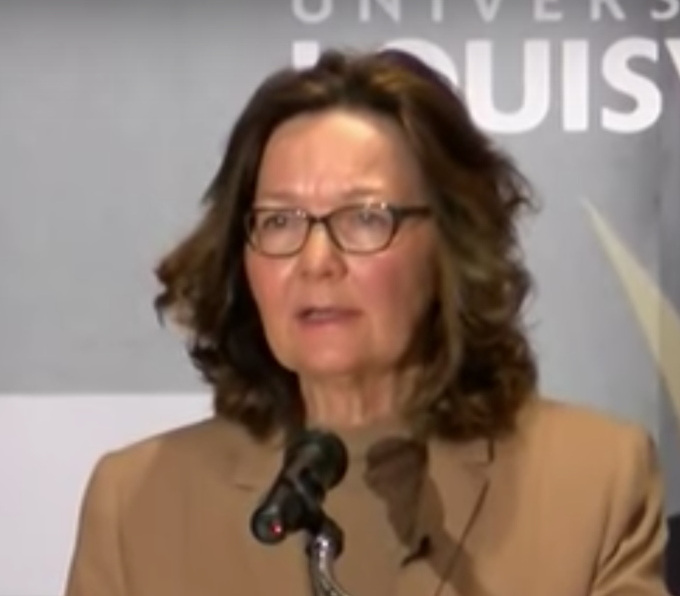 Gina Haspel CIA director speaks