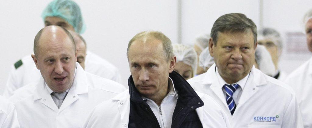 Putin and Prigozhin
