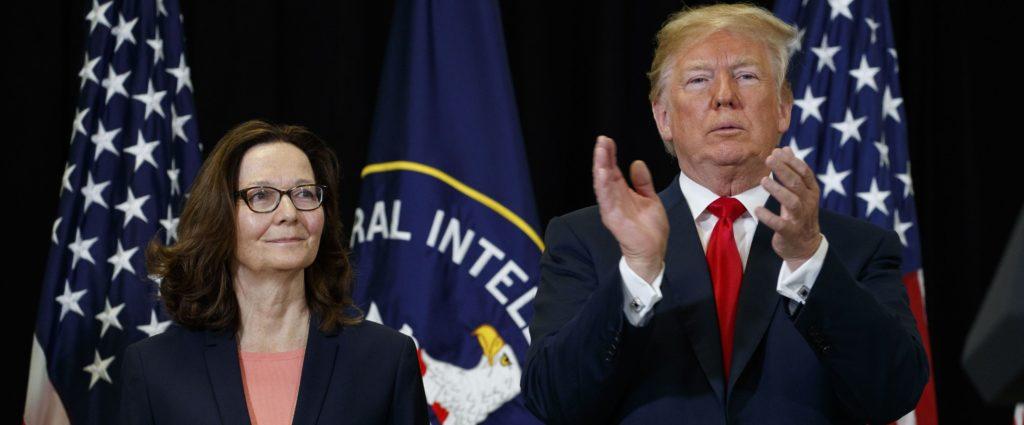 Trump and Haspel