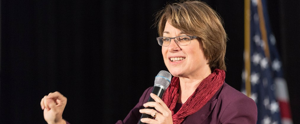Amy Klobuchar (Credit - Creative Commons)