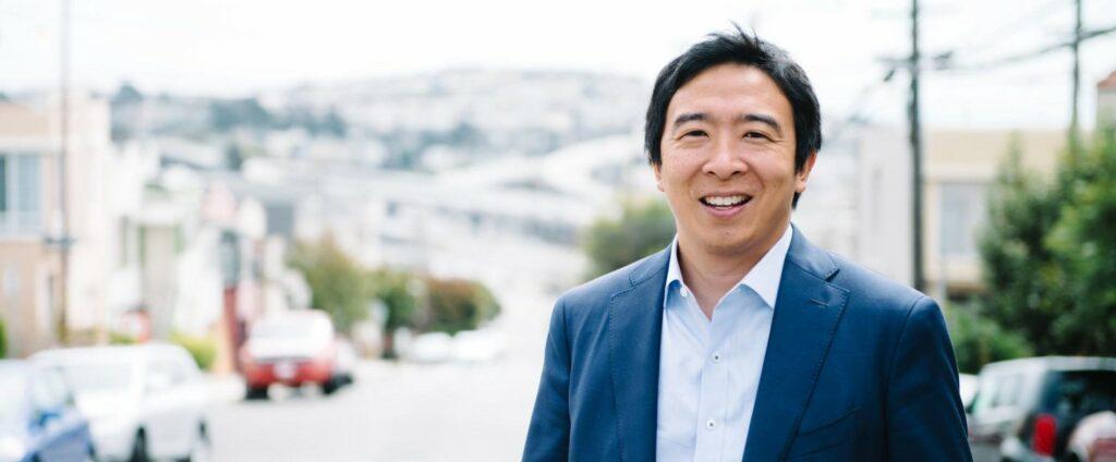 Andrew Yang (Credit: Yang2020)