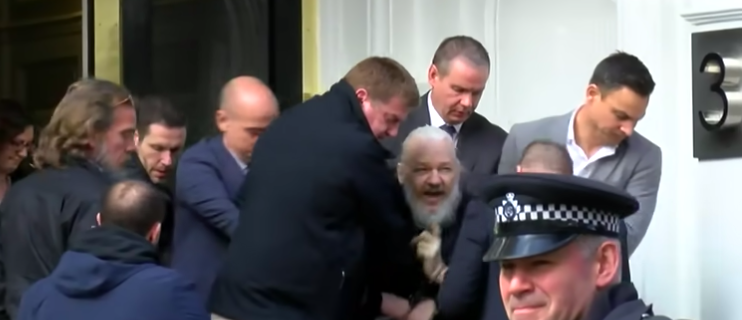 Assange Arrested