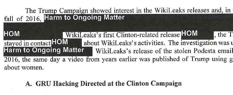 Mueller Redacted